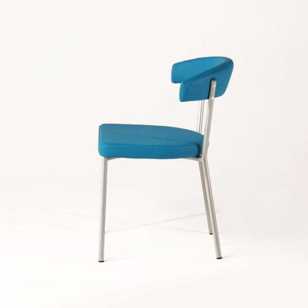 Chaise de cuisine en métal et synthétique - Elli 3 - 3