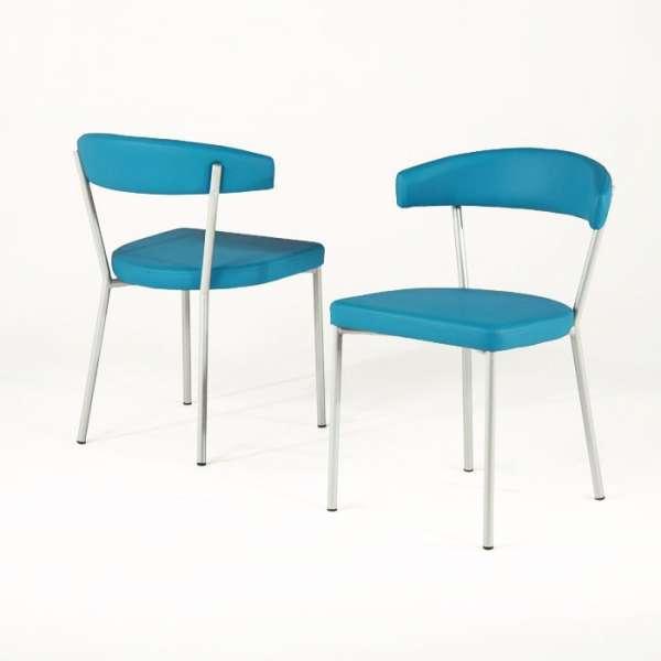 Chaise de cuisine en métal et synthétique - Elli 4 - 4