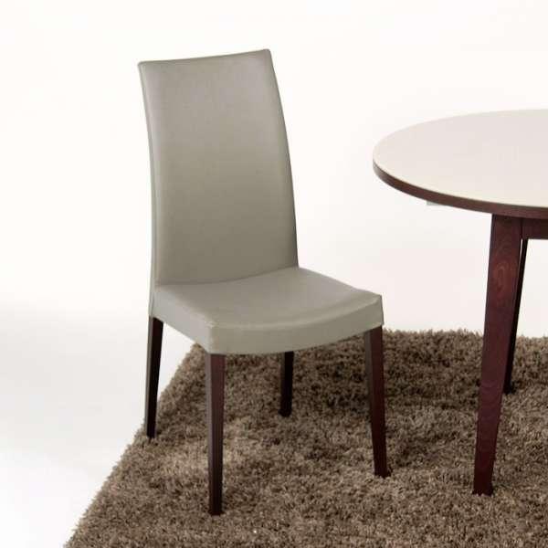 Chaise de salle à manger contemporaine en bois Tortora - 4