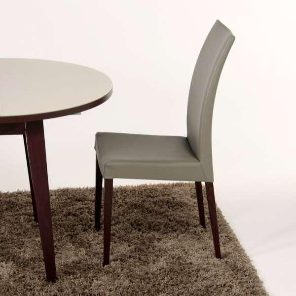 Chaise de salle à manger contemporaine en bois Tortora - 5