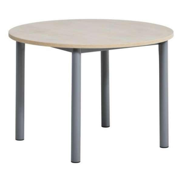 Table de cuisine ronde en stratifié - Lustra 2 - 3