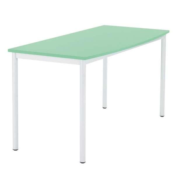 Table en mélaminé et métal - Paco 2 - 1
