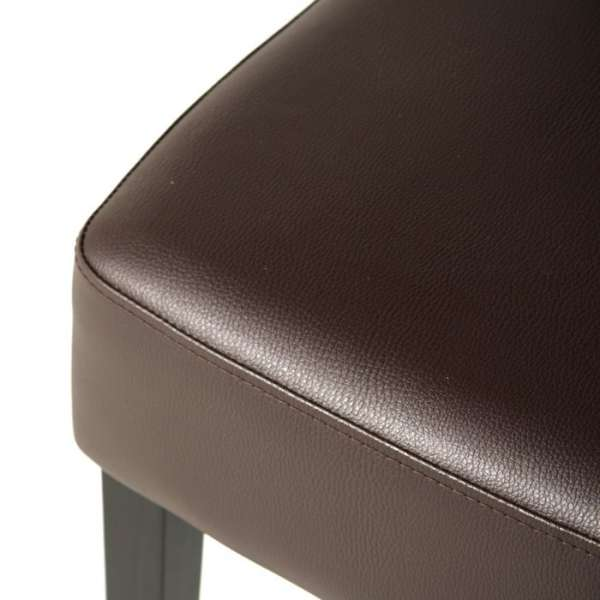 Chaise contemporaine marron - Steffi - 14