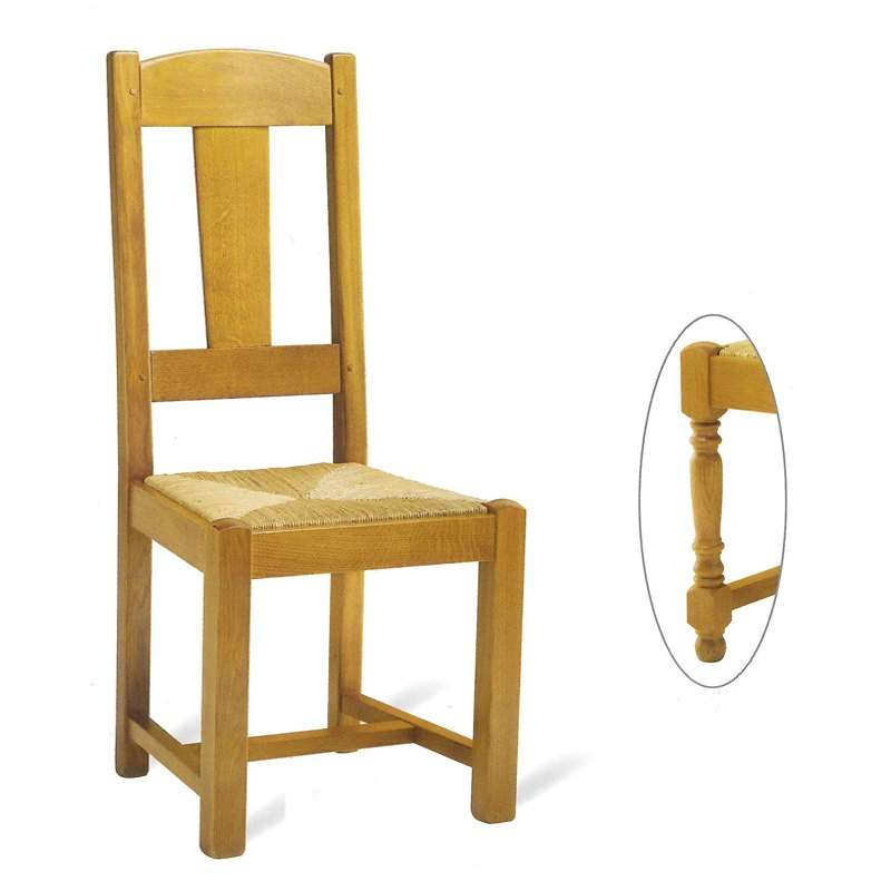 Chaises Rustiques Salle à Manger: Chaise De Salle à Manger En Bois Rustique Fabrication