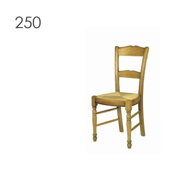 Chaise de cuisine en bois fabrication française - 250 253 255 - 2