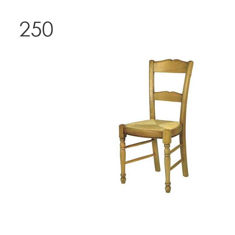 chaise de cuisine campagnarde