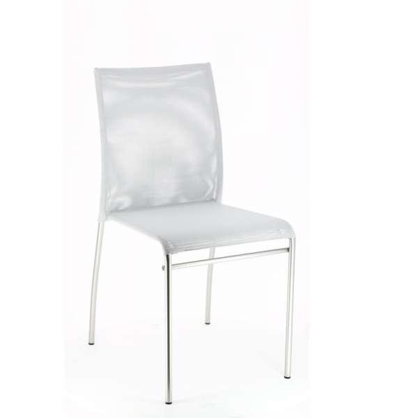 Chaise de cuisine en métal et batyline - Jenny 3 - 2