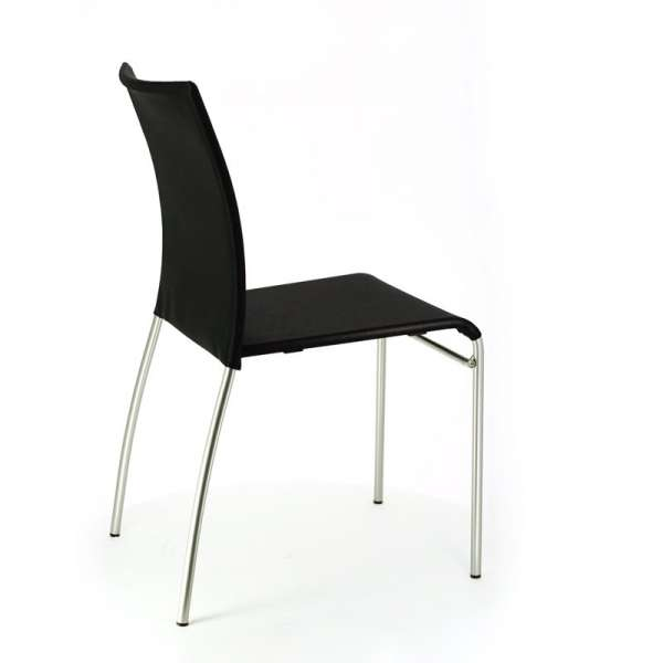 Chaise de cuisine en métal et batyline - Jenny 8 - 8