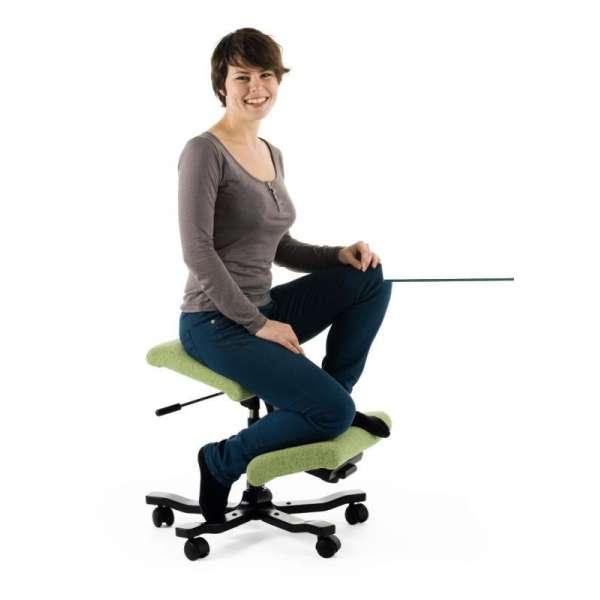 Chaise ergonomique à roulettes Wing Varier® - 7
