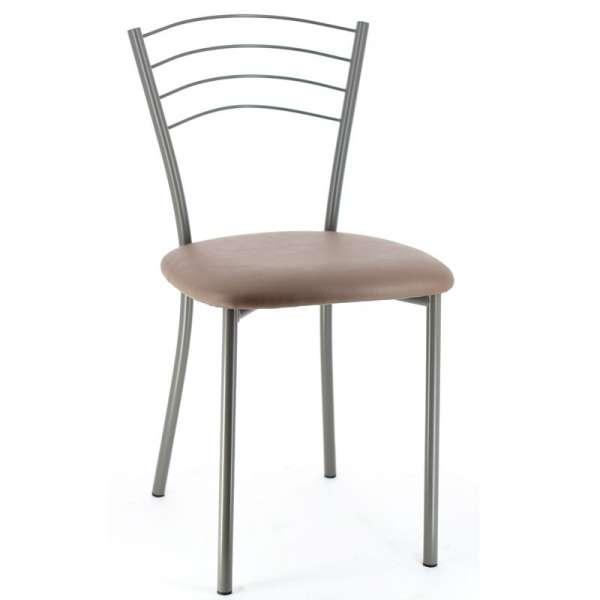 Chaise de cuisine contemporaine en métal - Roma 7 - 9