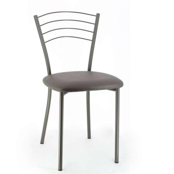 Chaise de cuisine contemporaine en métal - Roma 8 - 10