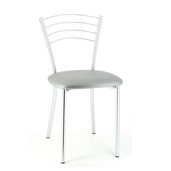 Chaise de cuisine contemporaine en métal - Roma 2 - 4