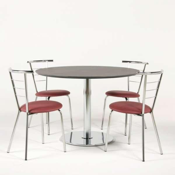 Chaise en métal pour cuisine  - Valérie - 13