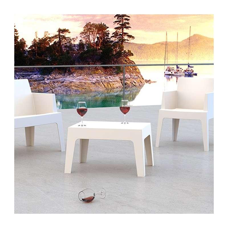 set de table polypropylene table basse de jardin en polypropyl ne box 4