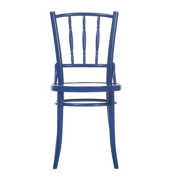 Chaise bistrot en bois dejavu - 8