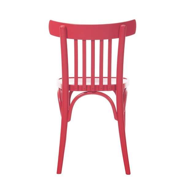 Chaise de brasserie en bois 763