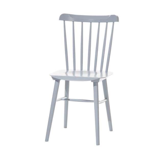 Chaise brasserie en bois - 12