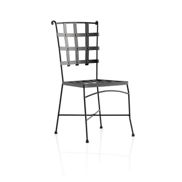 Chaise style provençal en métal - Genova