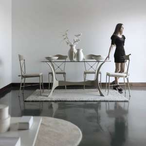 table provençale ovale beige - Apolo