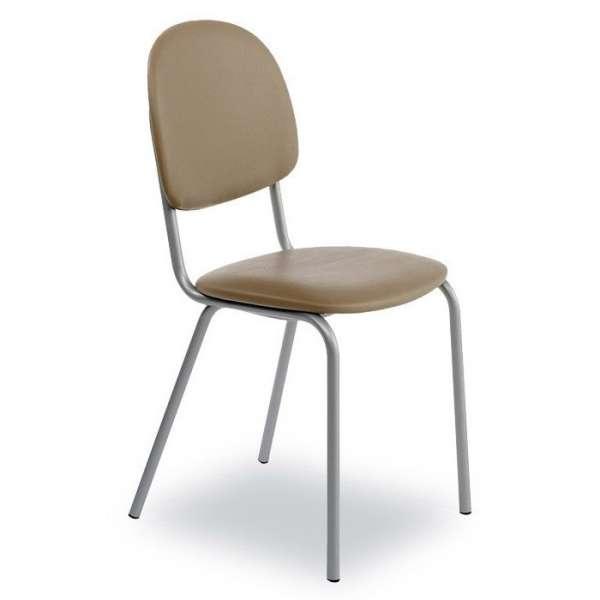 Chaise de cuisine en métal et synthétique - STR05 - 4