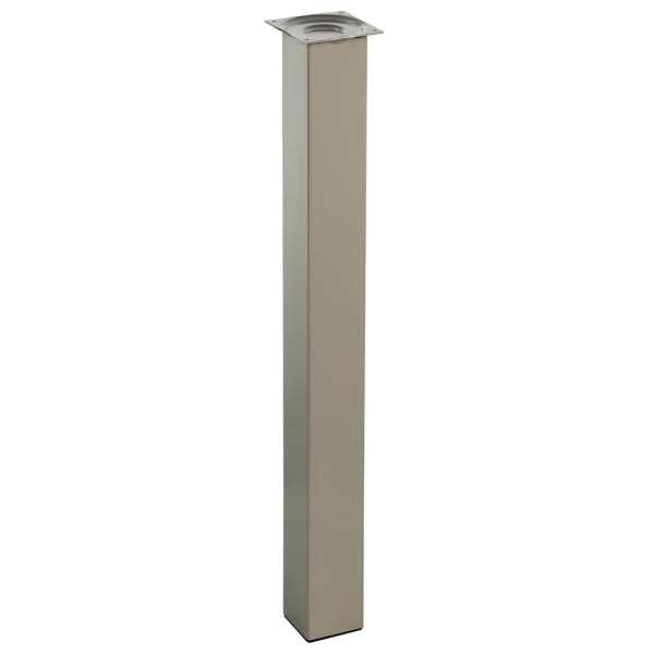 Pied pour table de cuisine hauteur 90 cm (à l'unité) - Quadra