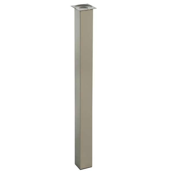 Pied pour table de cuisine hauteur 110 cm (à l'unité) - Quadra