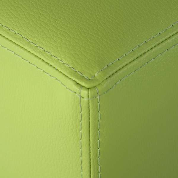 Pouf carré en vinyle – Quadra - 3