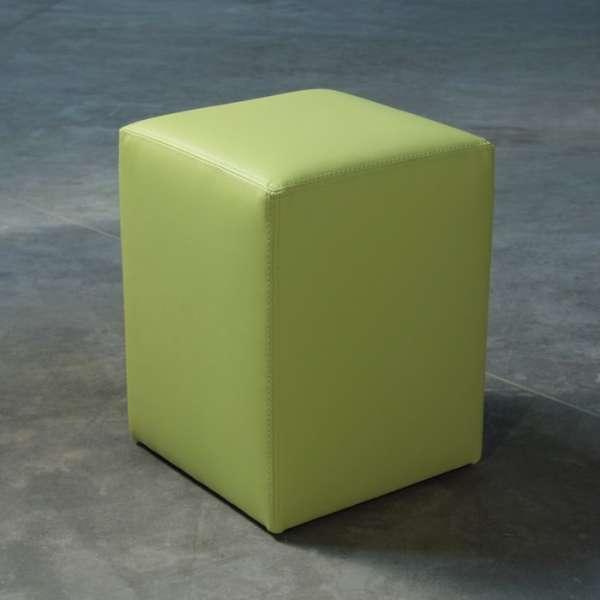 Pouf carré vert – Quadra - 4