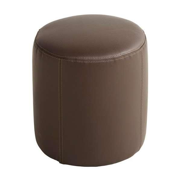 Pouf rond marron – Rondo - 4