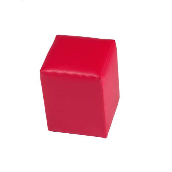 Pouf carré rose – Quadra - 11