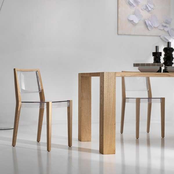 Chaise design en plexi Together - 4
