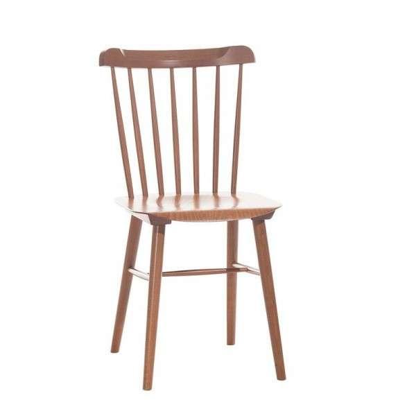Chaise brasserie en bois - 9