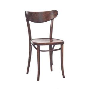 Chaise brasserie en bois