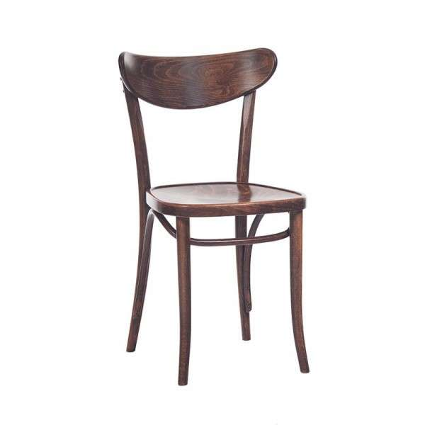 Chaise brasserie en bois - 1