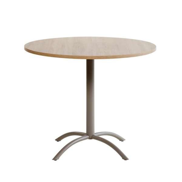 Table ronde de cuisine en stratifié - Laser 3 - 3