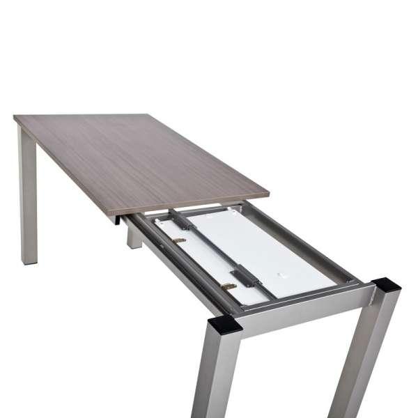Table de cuisine rectangulaire en stratifié avec allonge - Valencia 8 - 7