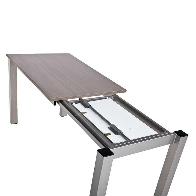 c5332d215b4c3 ... Table de cuisine rectangulaire en stratifié avec allonge - Valencia 8 -  7 ...
