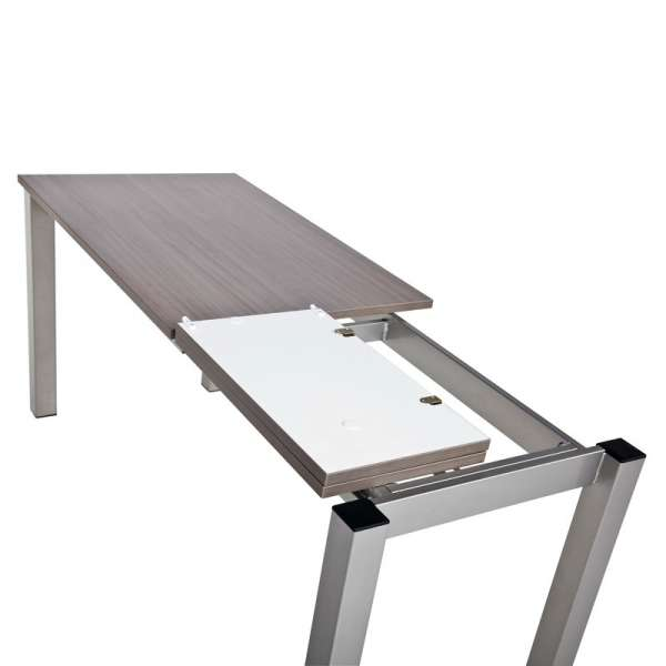 Table de cuisine rectangulaire en stratifié avec allonge - Valencia 9 - 8