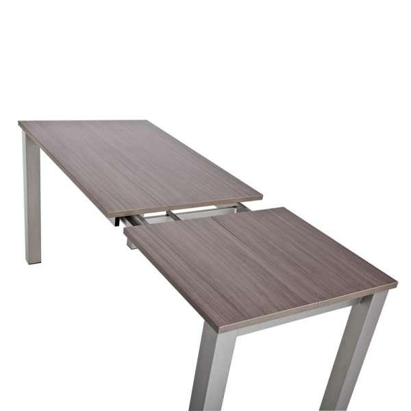 Table de cuisine rectangulaire en stratifié avec allonge - Valencia 11 - 10