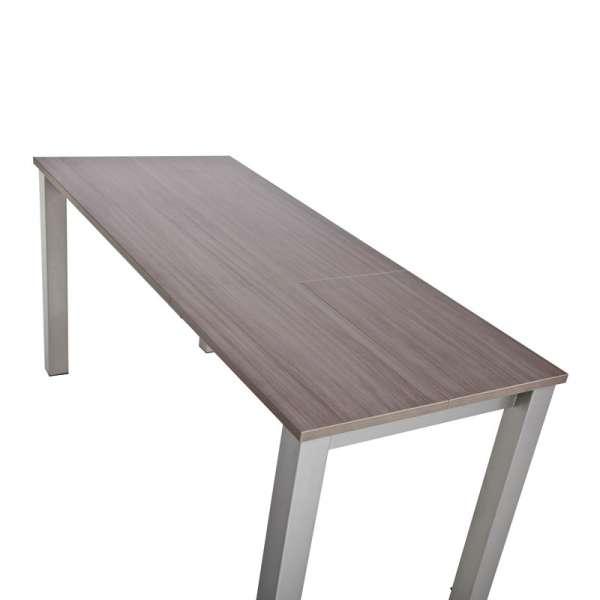 Table de cuisine rectangulaire en stratifié avec allonge - Valencia 12 - 11