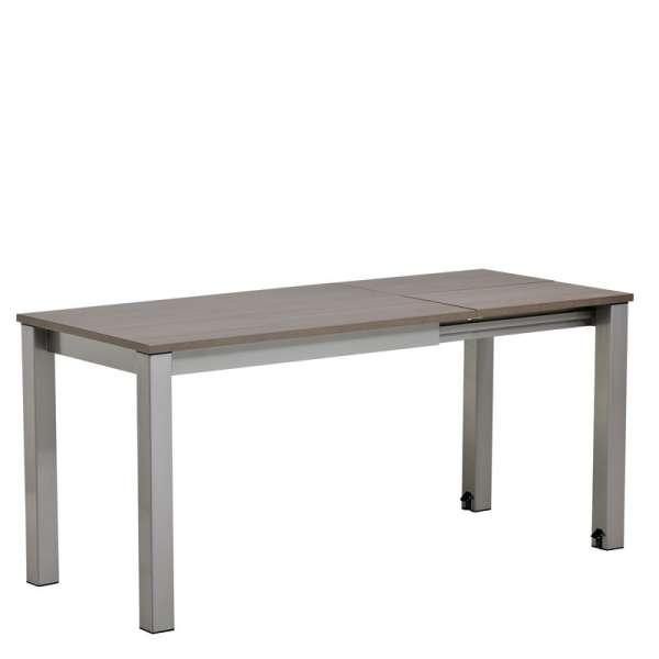Table de cuisine rectangulaire en stratifié avec allonge - Valencia 6 - 5