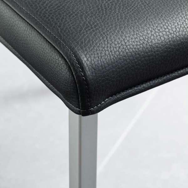 Chaise de cuisine en synthétique et métal - Gaudi 5 - 5