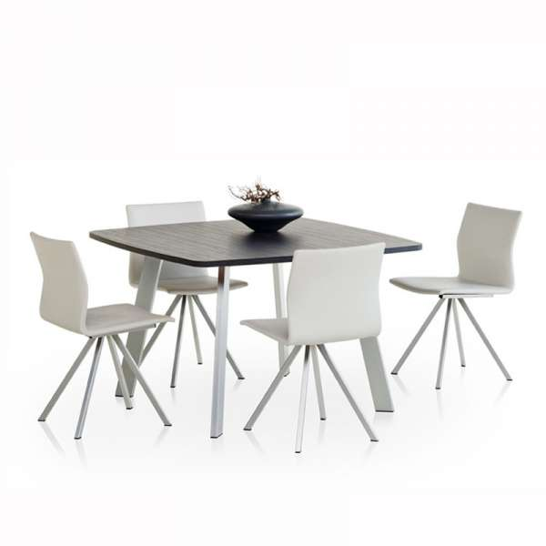 Chaise design en métal Silva - 3