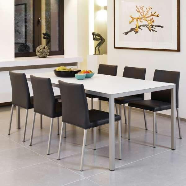 Chaise de cuisine en synthétique et métal - Gaudi 6 - 6