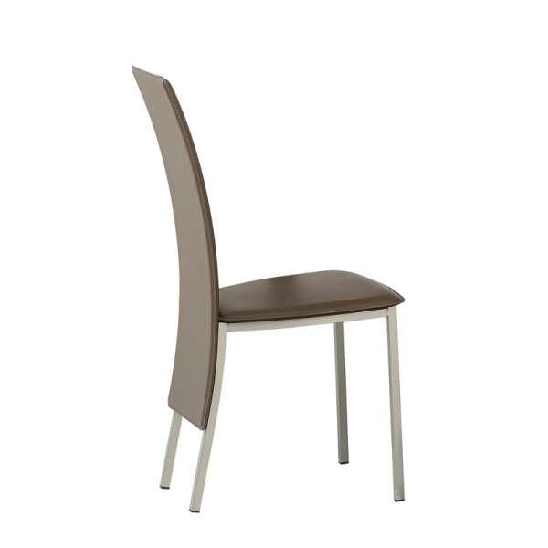 Chaise contemporaine de salle à manger - Elyn 4 - 4