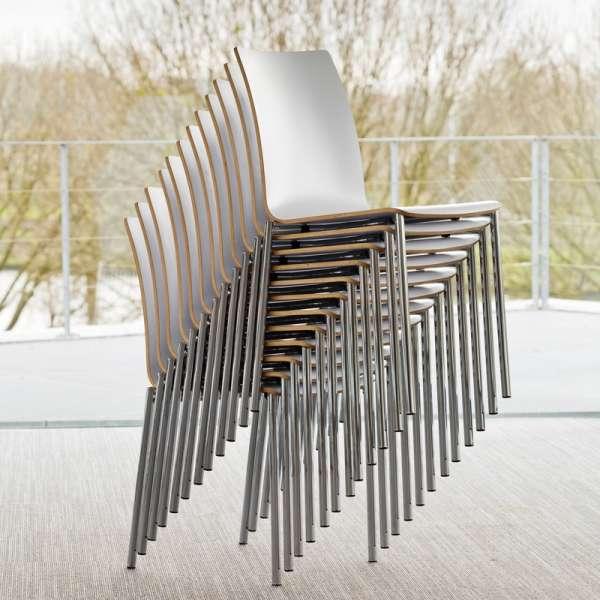Chaise moderne en métal et stratifié - Pro's 25 - 10