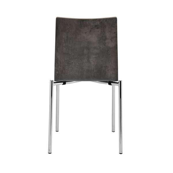 Chaise moderne en métal et stratifié - Pro's 4 - 14