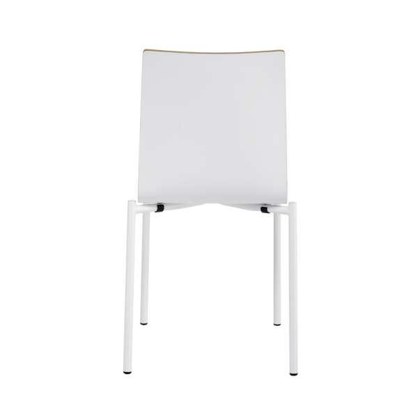 Chaise moderne en métal et stratifié - Pro's 18 - 25