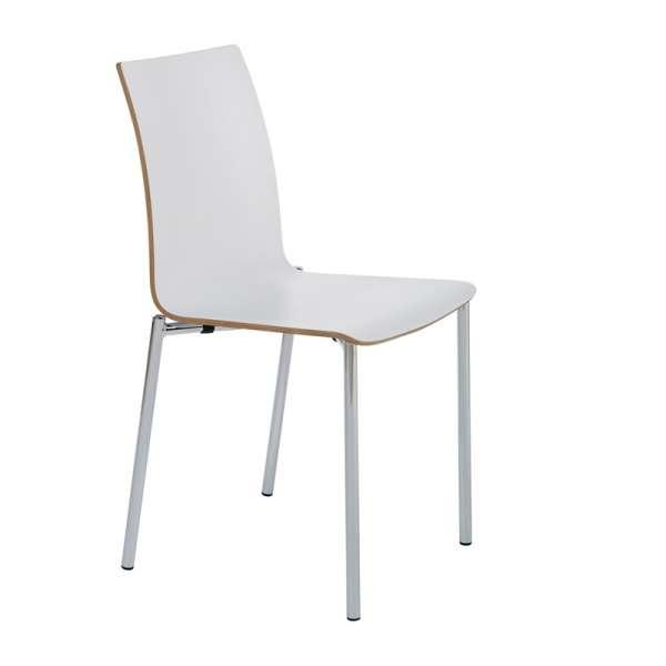 Chaise moderne en métal et stratifié - Pro's 16 - 23
