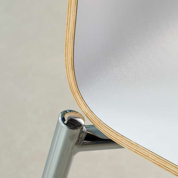 Chaise moderne en métal et stratifié - Pro's 23 - 9